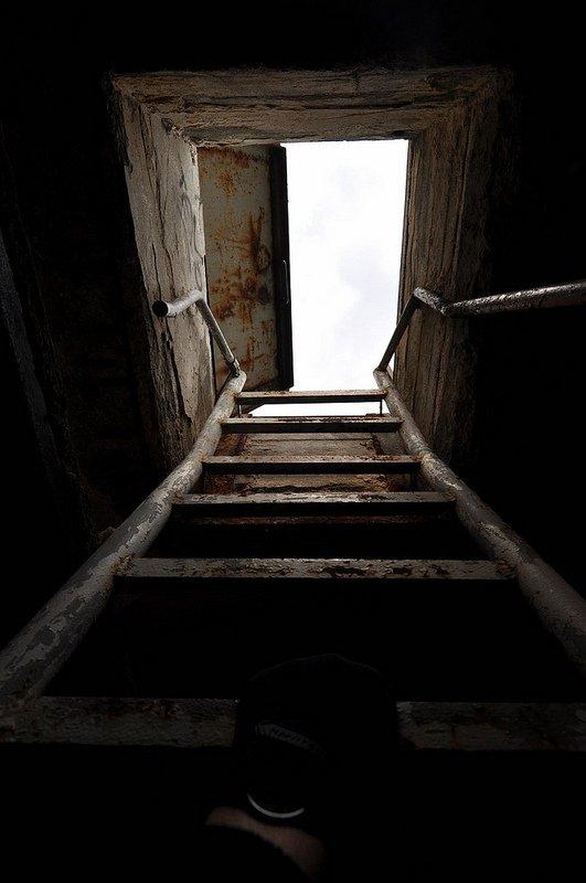 rooftop ladder abandoned iraqi embassy berlin germany