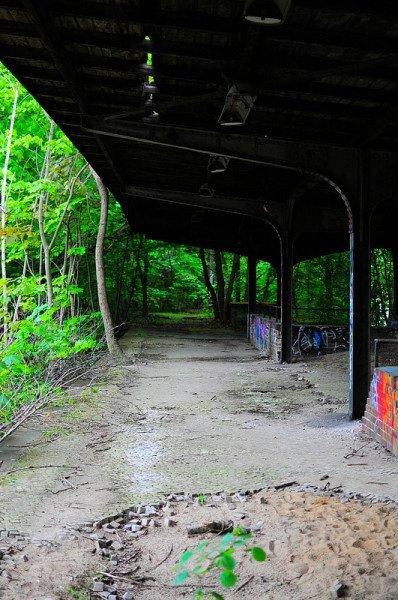 abandoned sbahn siemensstadt platform
