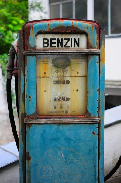 benzin zapfsaeule