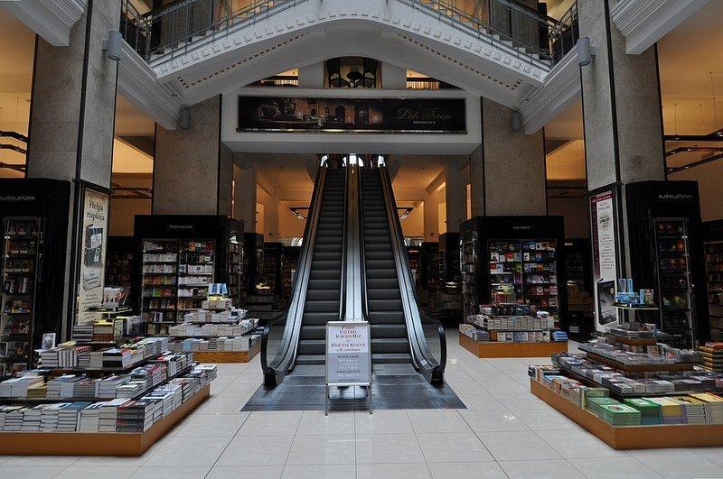 cafe parisi escalators Parizsi Nagy aruhaz budapest