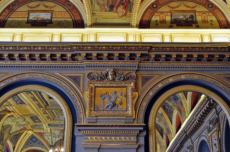 cafe parisi budapest lotz terem frescos and mirrors
