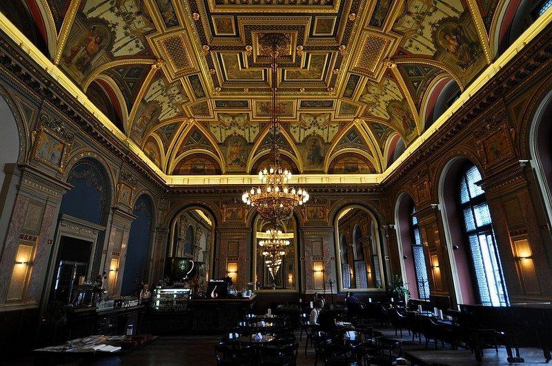cafe parisi budapest lotz terem full room view budapest hungary