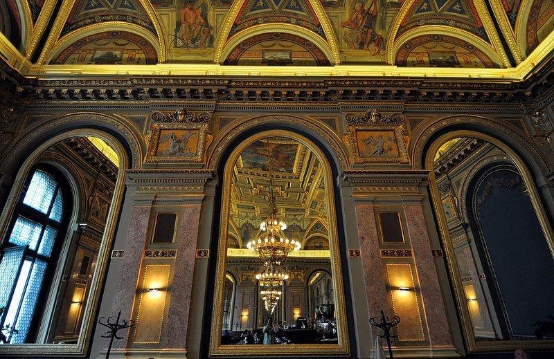 cafe parisi budapest mirror view alexandra bookcafe budapest hungary