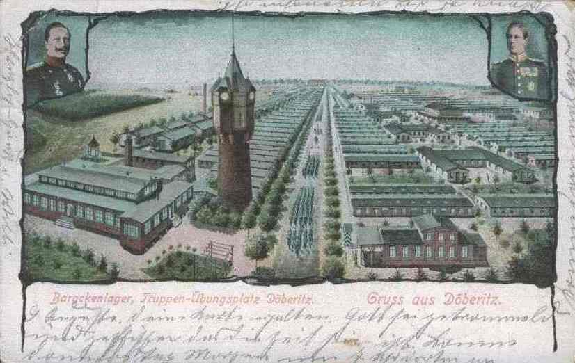 1900 Doeberitz Truppenuebungsplatz