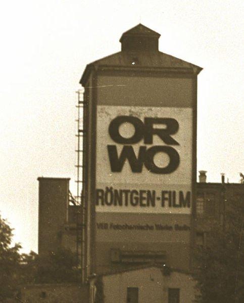 ORWO VEB Fotochemische Werke Berlin 1978 Michael Lucan