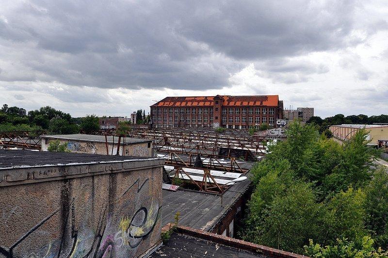 VEB Kabelwerk Koepenick dach ansicht