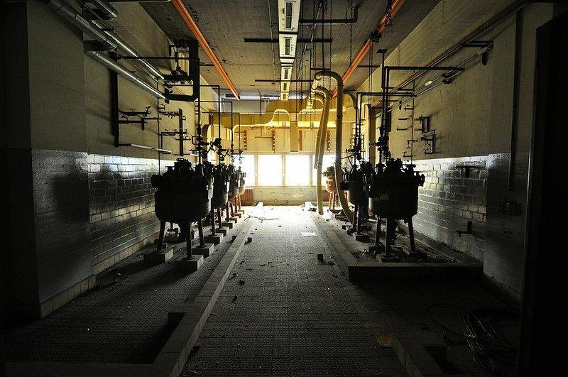 abandoned boiler room berlin