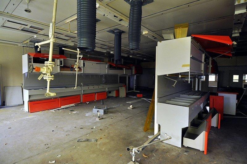 abandoned photo lab room berlin