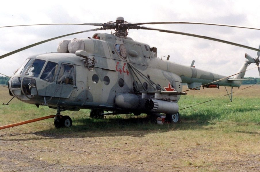 Russian Mi-8 Helicopter