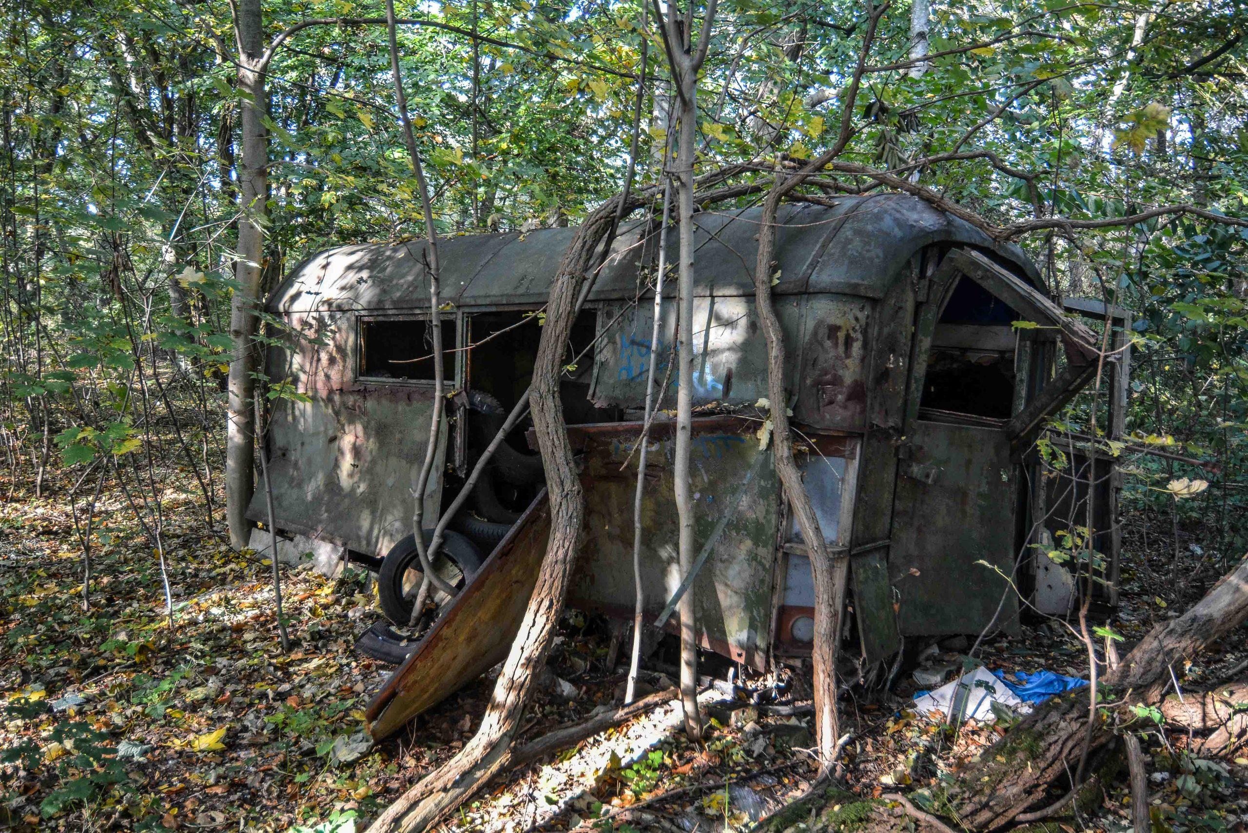 soviet camper van flugplatz oranienburg urbex abandoned lost places brandenburg
