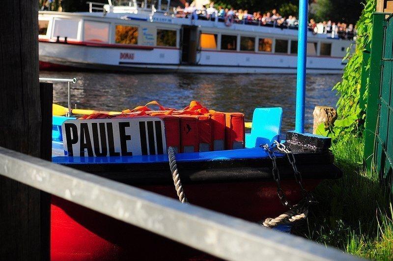 Paule III Fähre Berlin Rahnsdorf