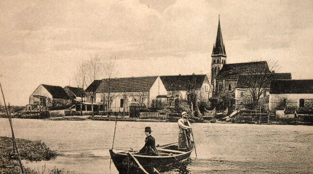Postkarte Rahnsdorf Fähre