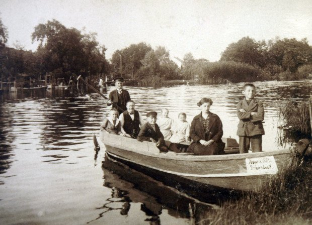 Vintage Photo of the Rahnsdorf Ferry