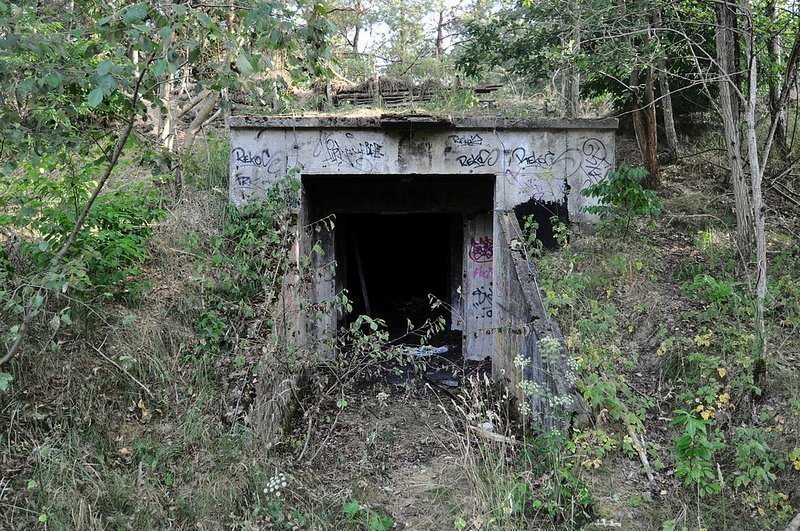 alter nva munitions bunker oranienburg