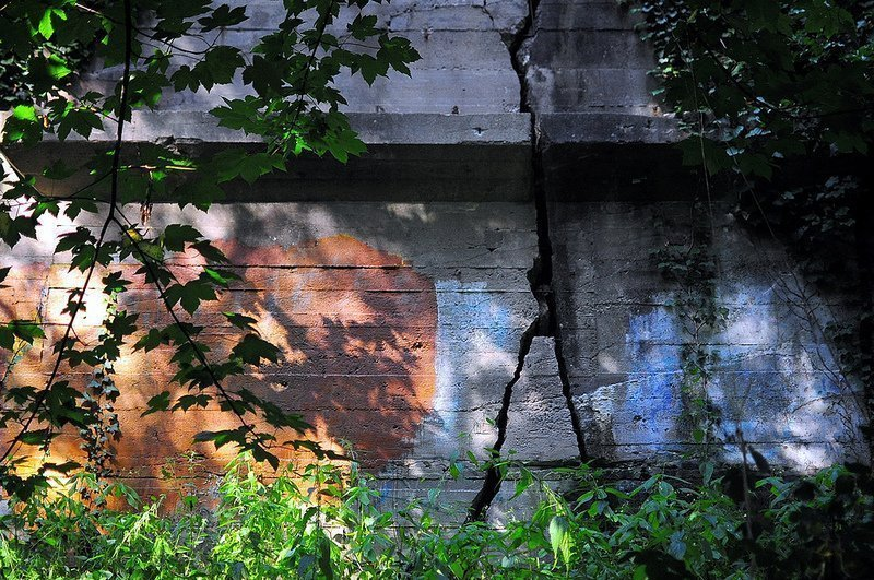 beton riss bunker oranienburg