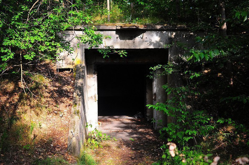 munitionsdepot oranienburg bunker entrance