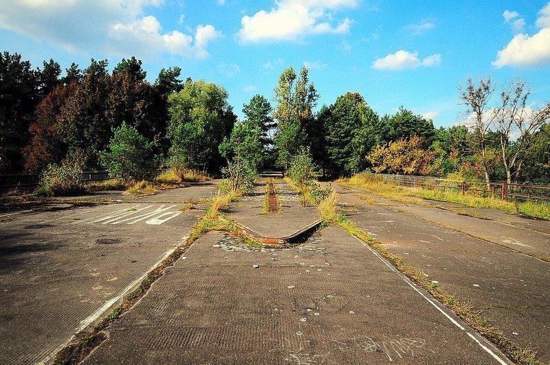 abandoned checkpoint bravo dreilinden berlin