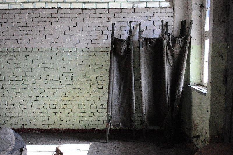 abandoned stretchers heeresbekleidungsamt bernau
