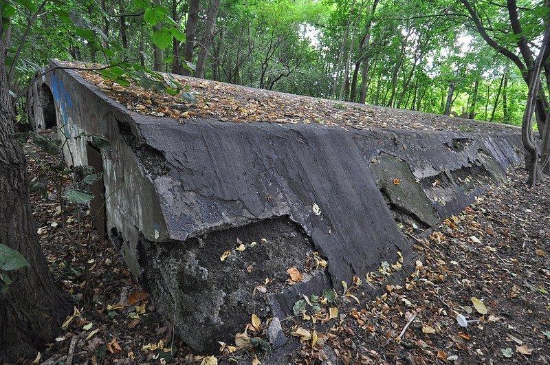 bunker seite auslaenderlager schoenholz