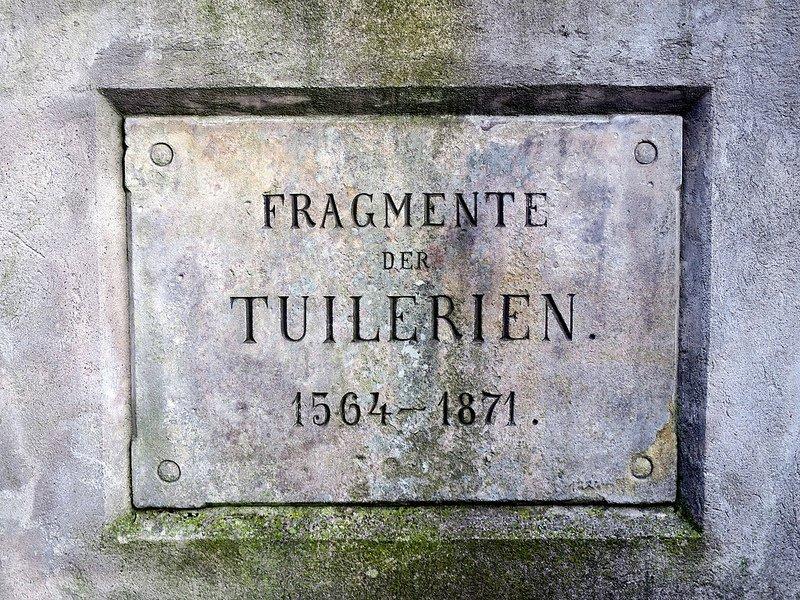 plaque tuileriensaeule schwanenwerder berlin