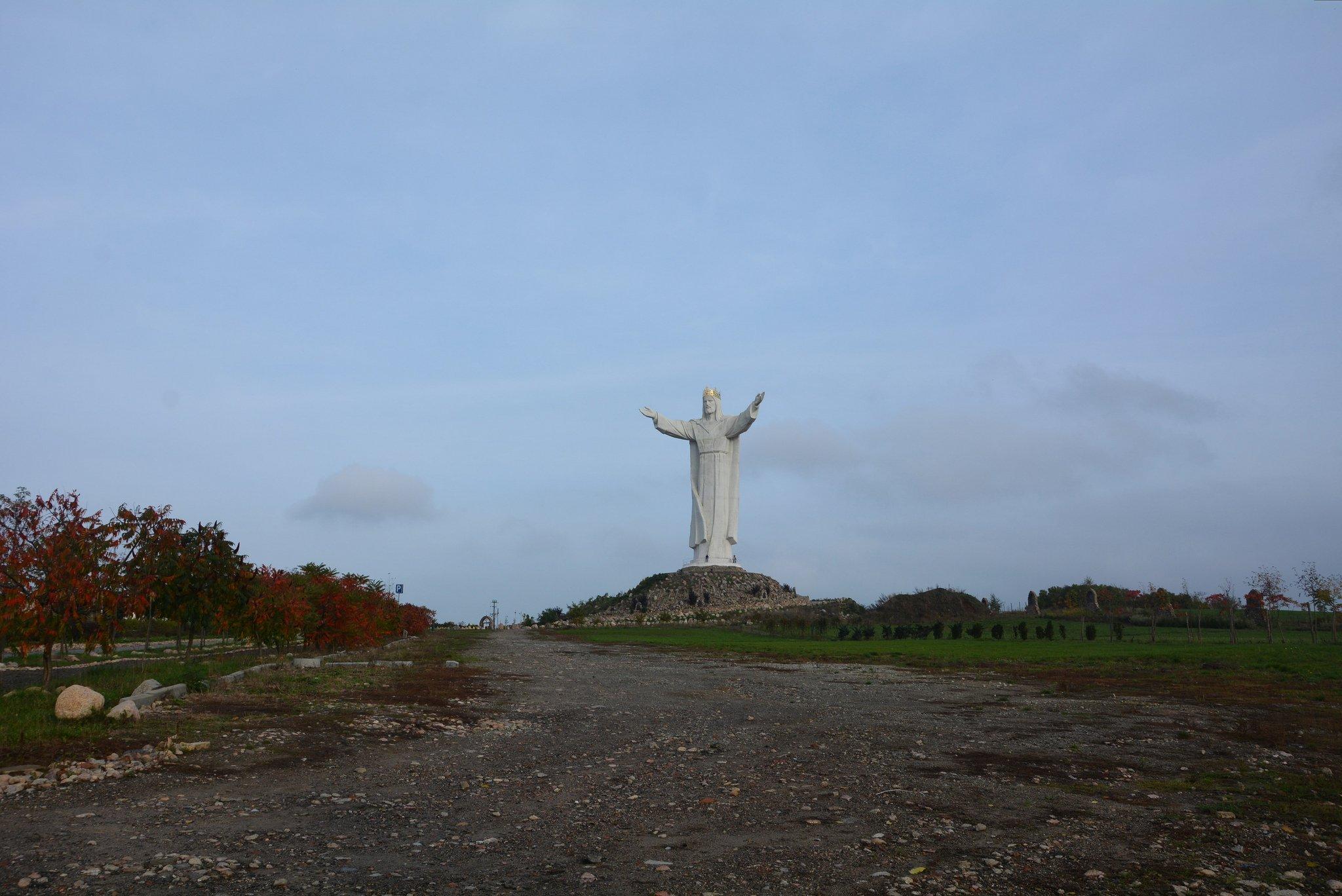Pomnik Chrystusa Krola tallest jesus statue swiebodzin poland