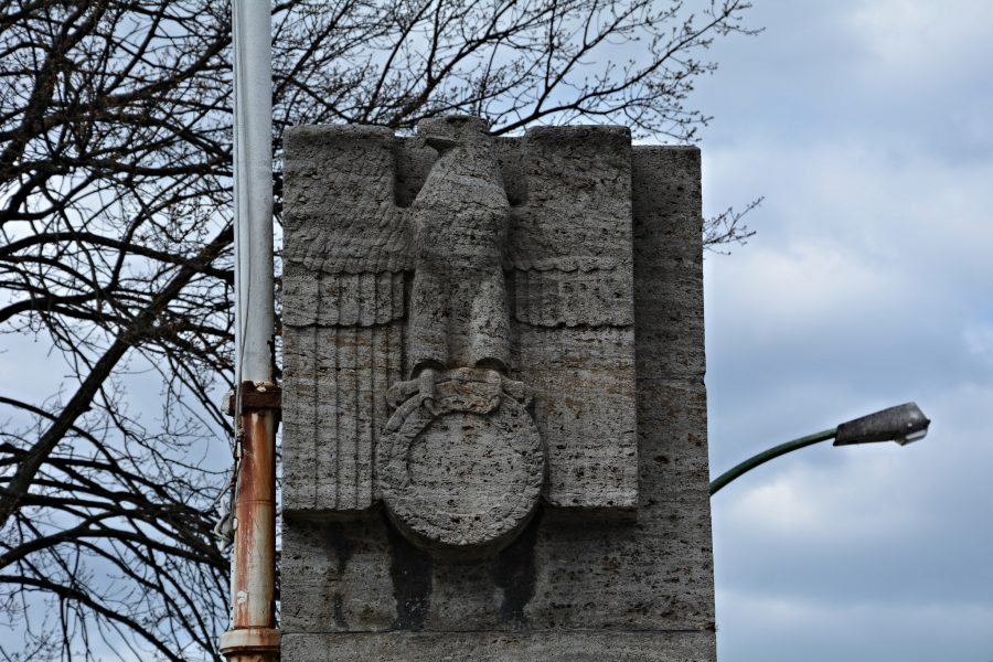 nazi reichsadler berlin olympia gelaende berlin