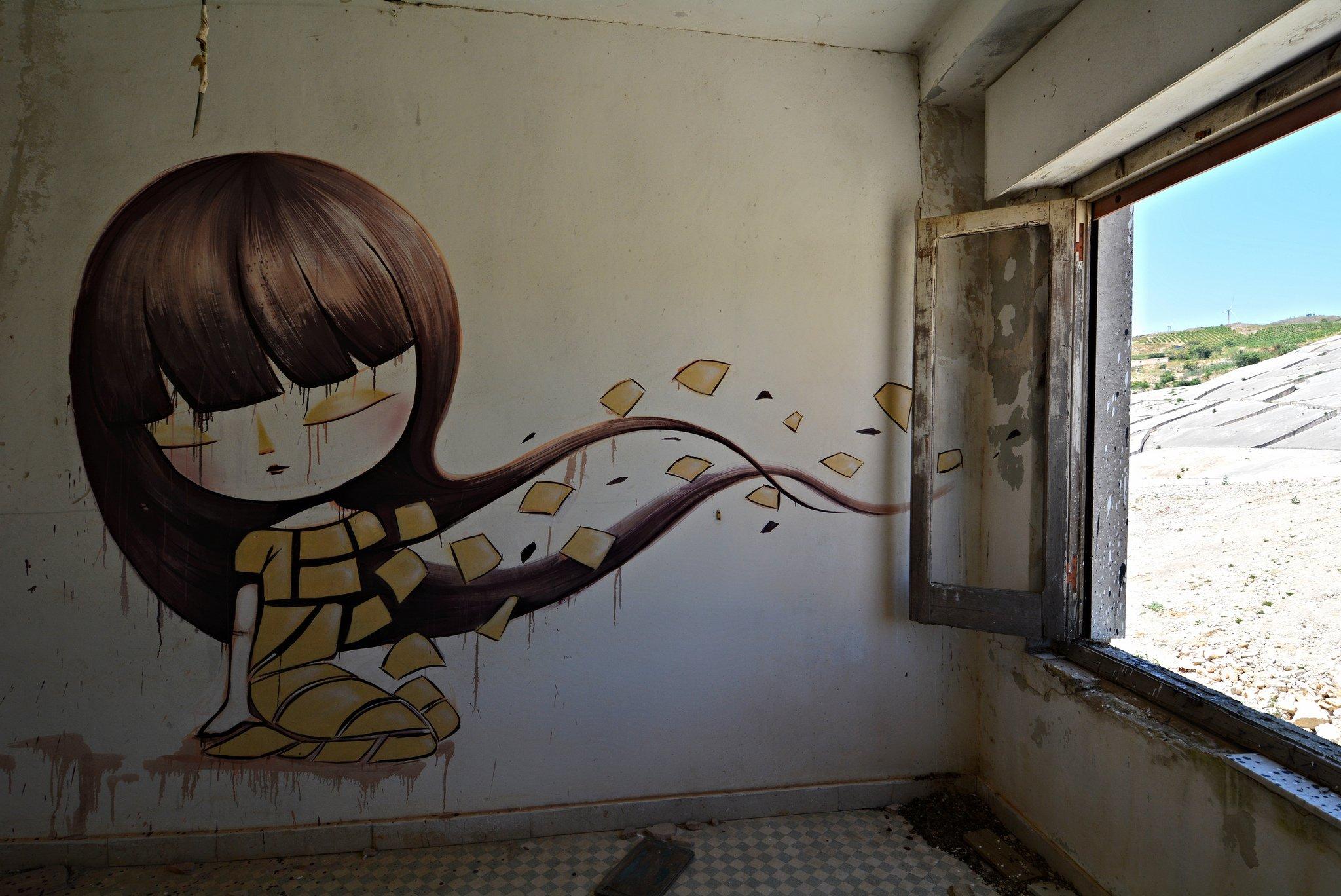 gibellina ruderi sicily street art