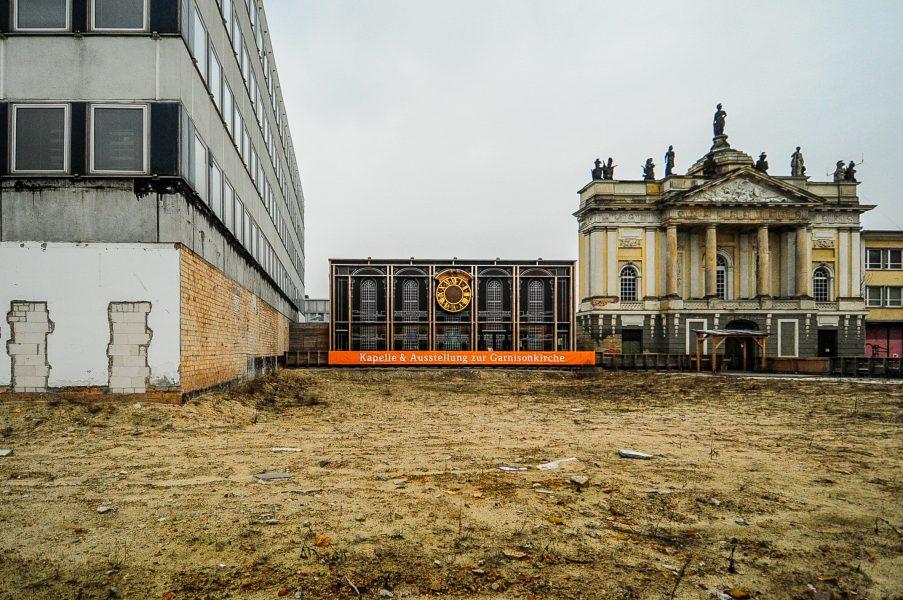 rechenzentrum potsdam germany deutschland ddr garnisonskirche baustelle