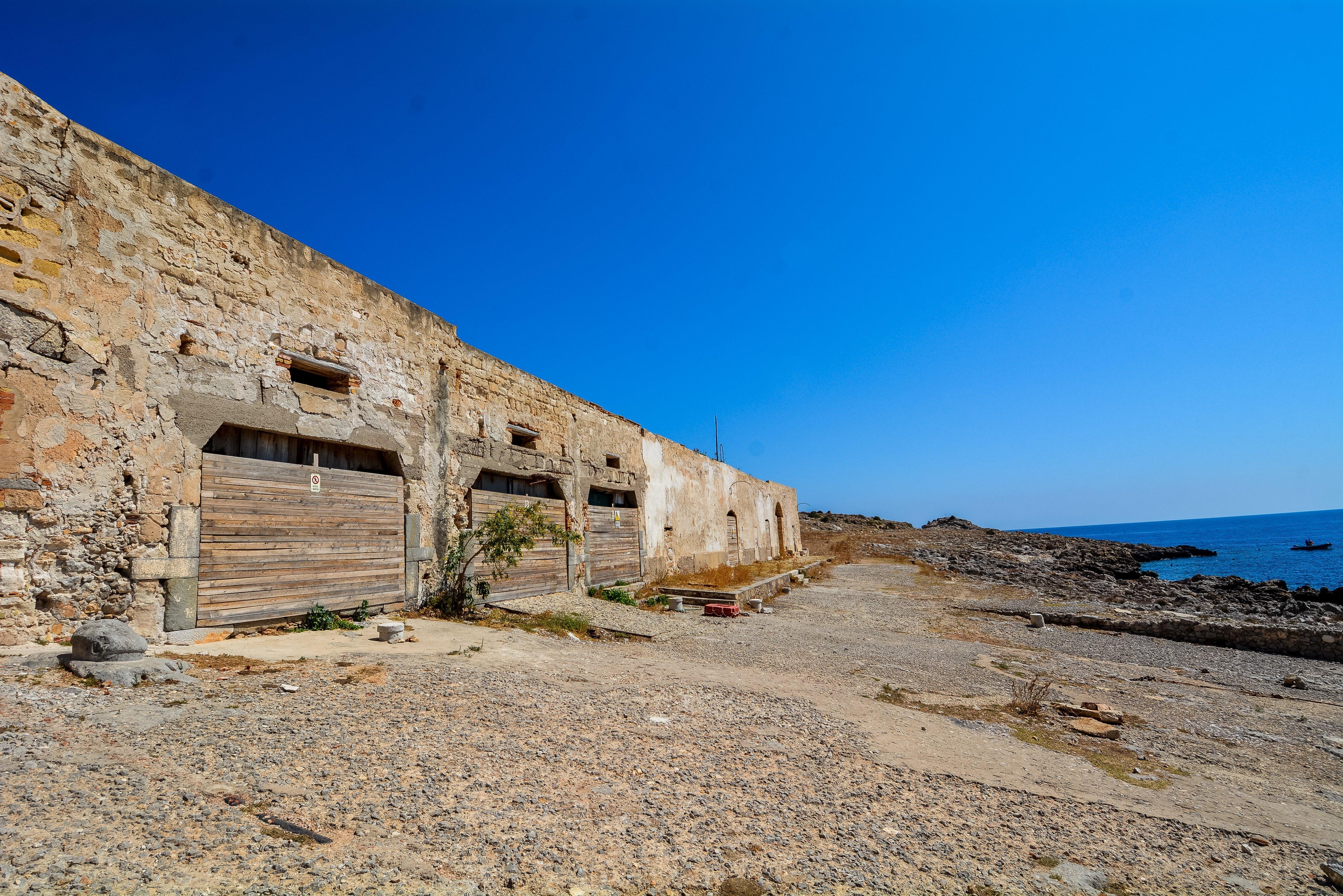 san vito lo capo tonnara del secco abandoned urbex lost places italy sicily tuna factory fishing