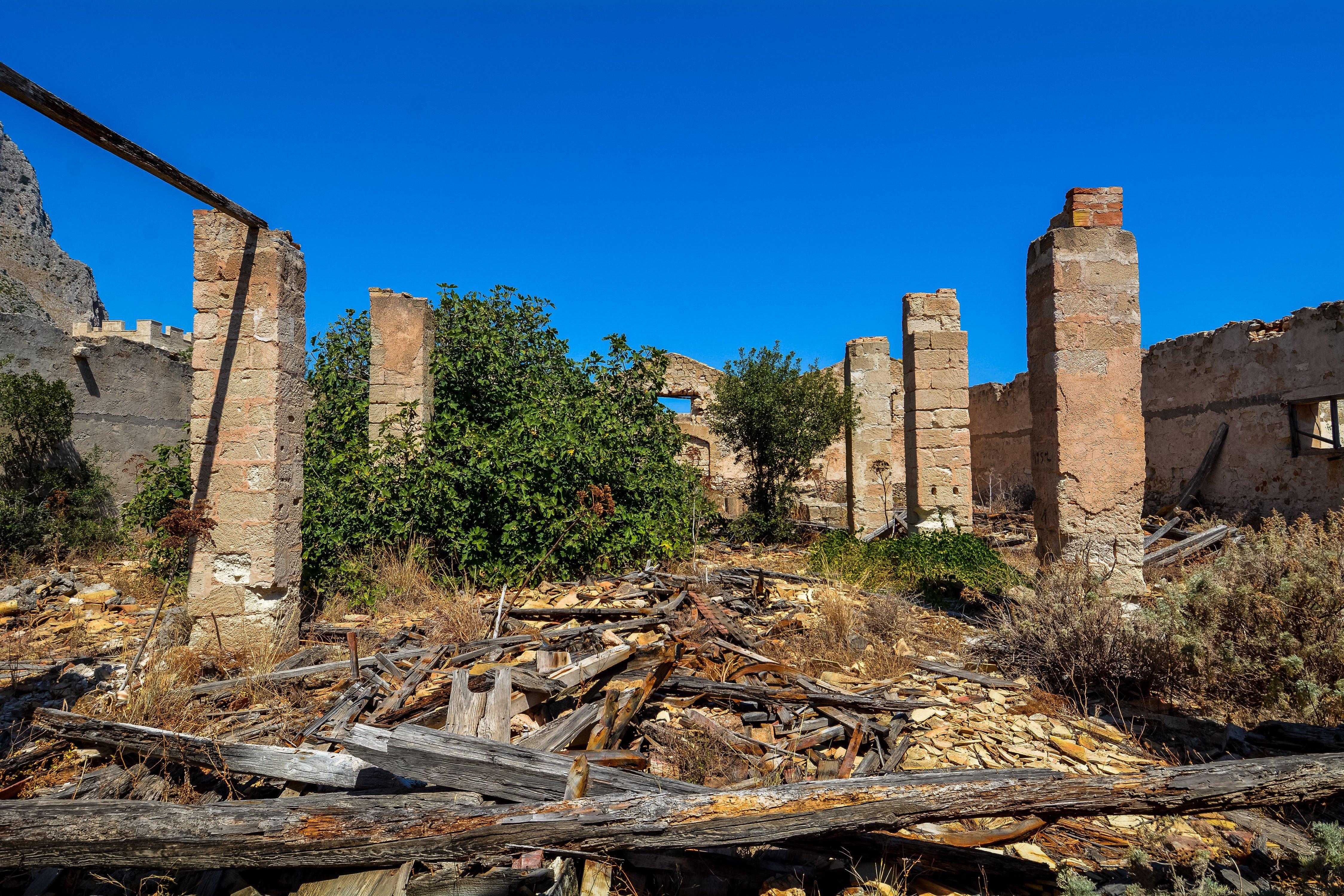 tuna factory fishing san vito lo capo tonnara del secco abandoned urbex lost places italy sicily interior ruins