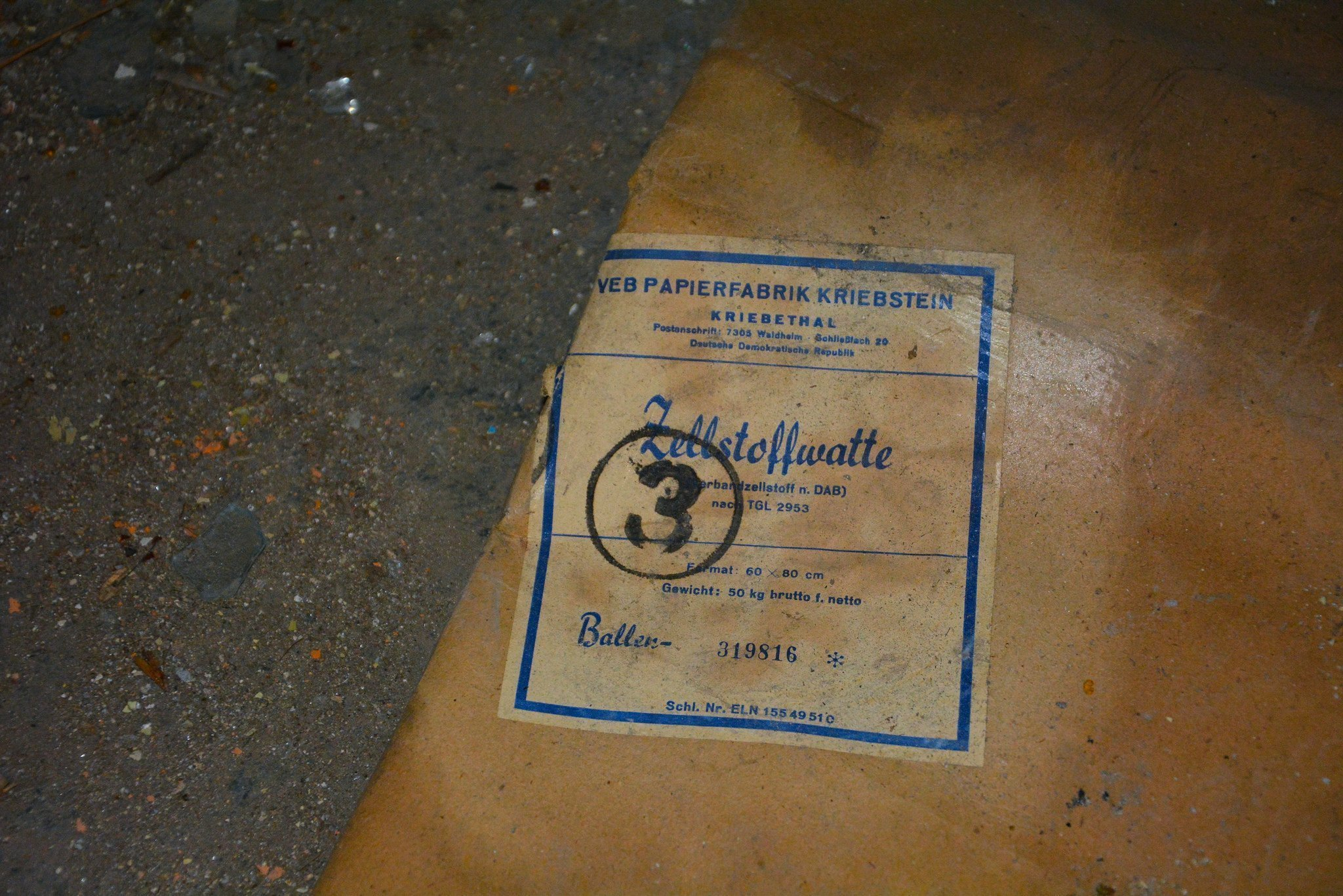 bandage packaging abandoned hospital berlin verlassenes krankenhaus lost places urbex ruins germany