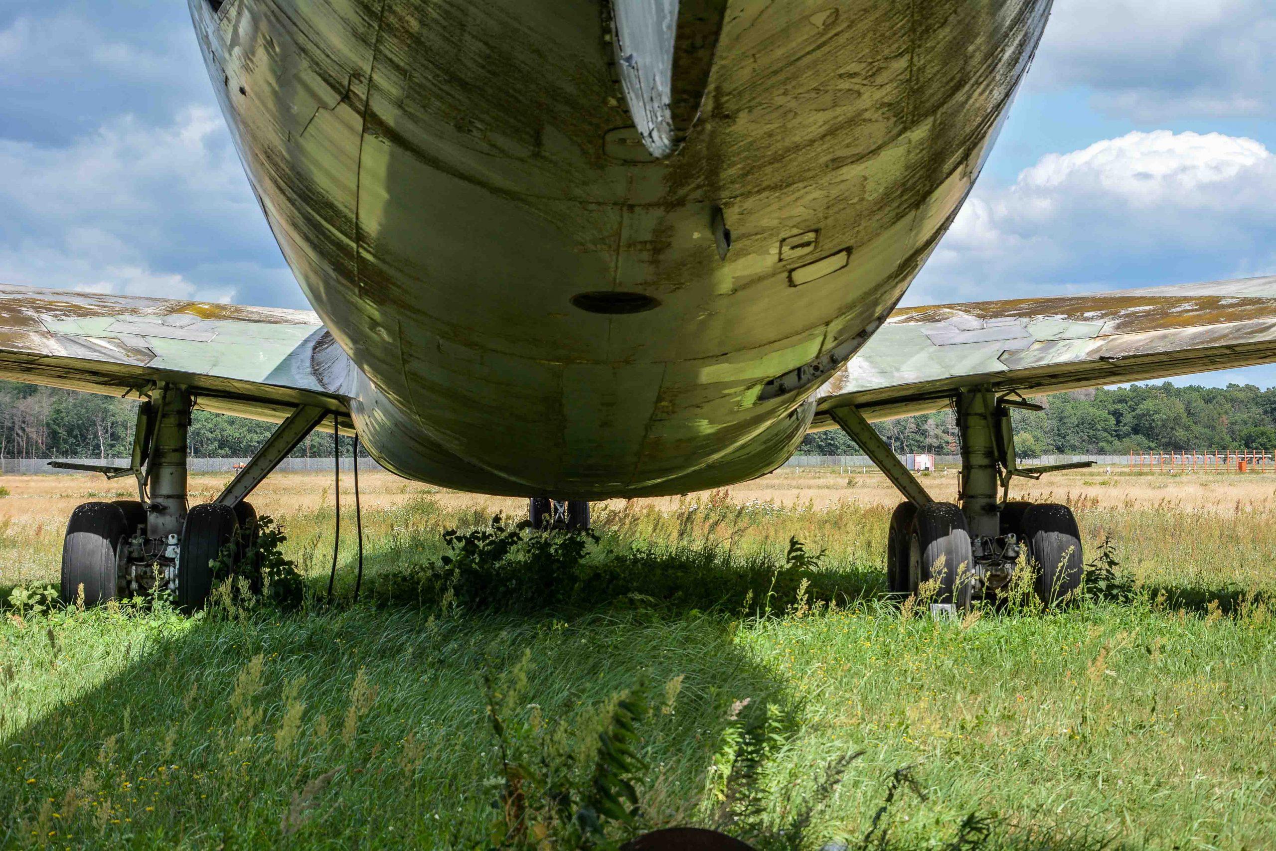 belly abandoned boeing 707 tegel txl flughafen airport berlin germany deutschland
