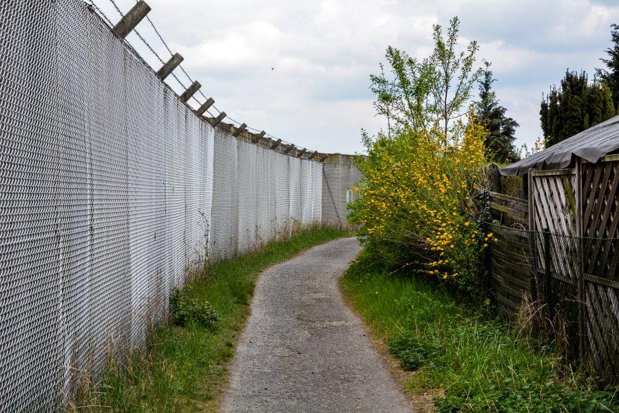 security barrier tegel txl berlin airtport germany