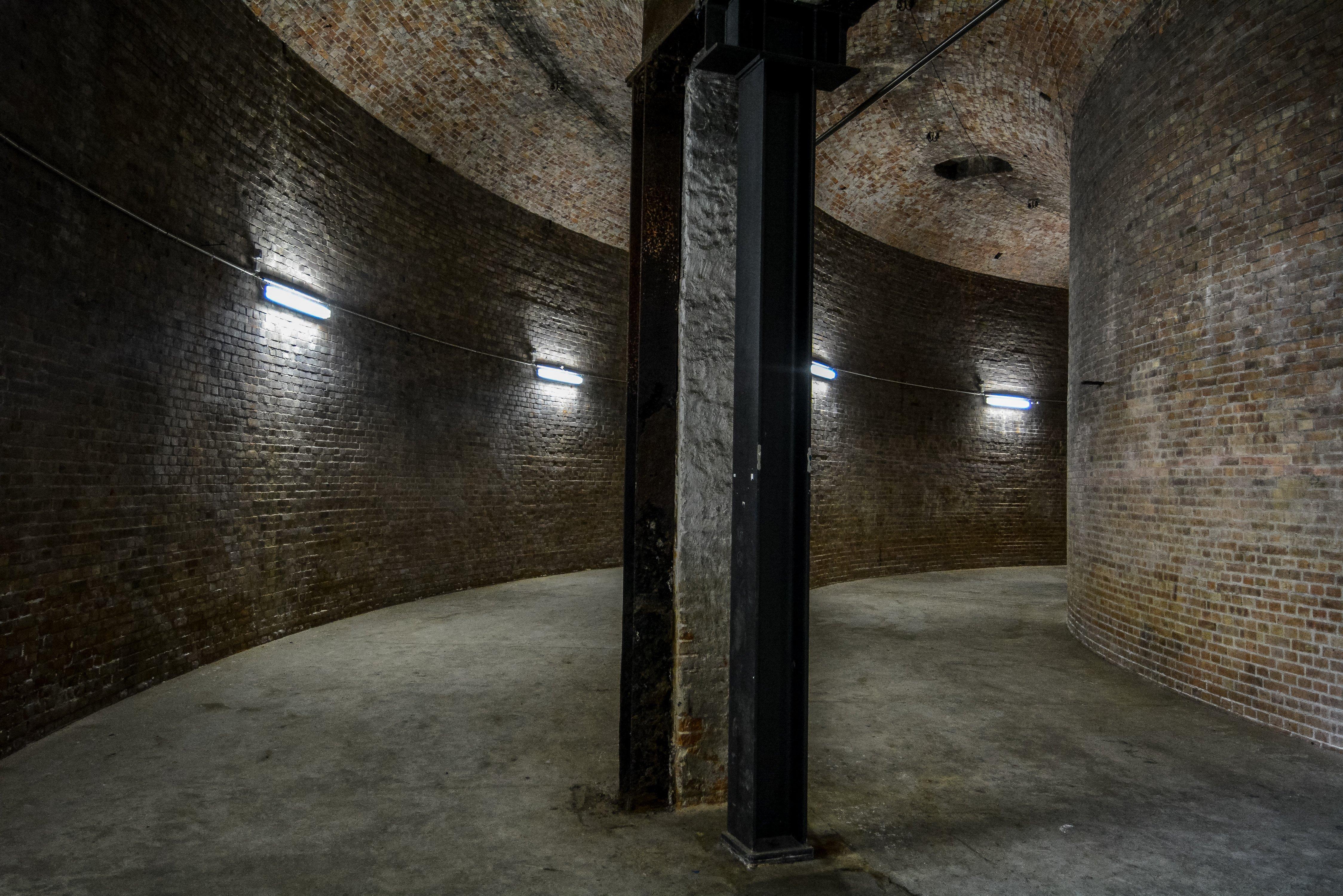 berlin prenzlauer berg wasserturm water tower large water reservoir interior inner ring wall