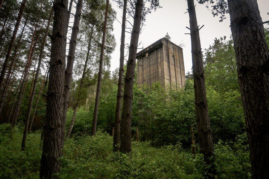 bunker tuerme wald seite weisse haeuser rechlin mecklenburg urbex lost places