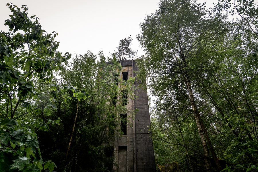 bunker turm wald seite weisse haeuser rechlin mecklenburg urbex lost places