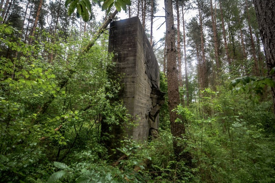panzerplatte beschuss weisse haeuser rechlin mecklenburg urbex lost places