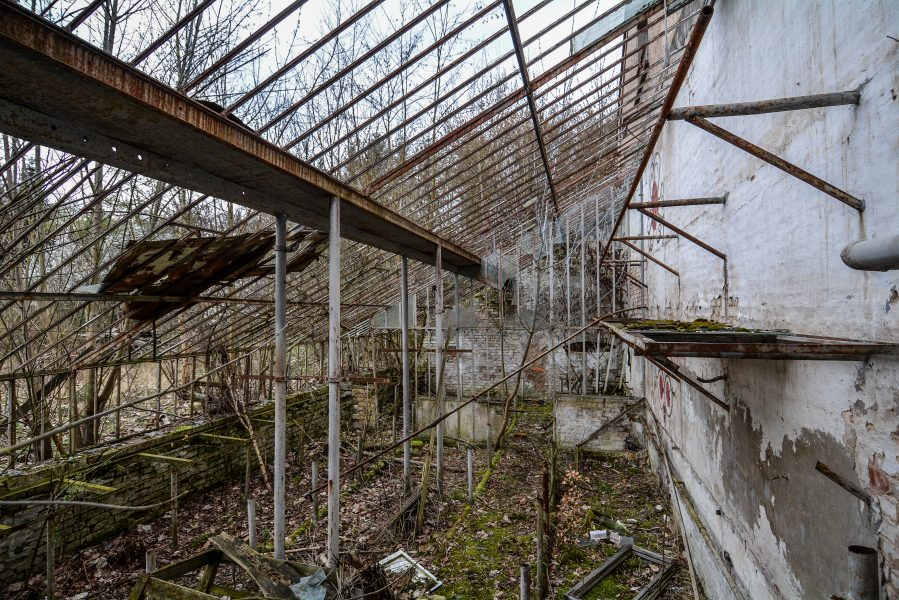 schloss dammsmuehle berlin lost places germany abandoned berlin urbex castle greenhouse