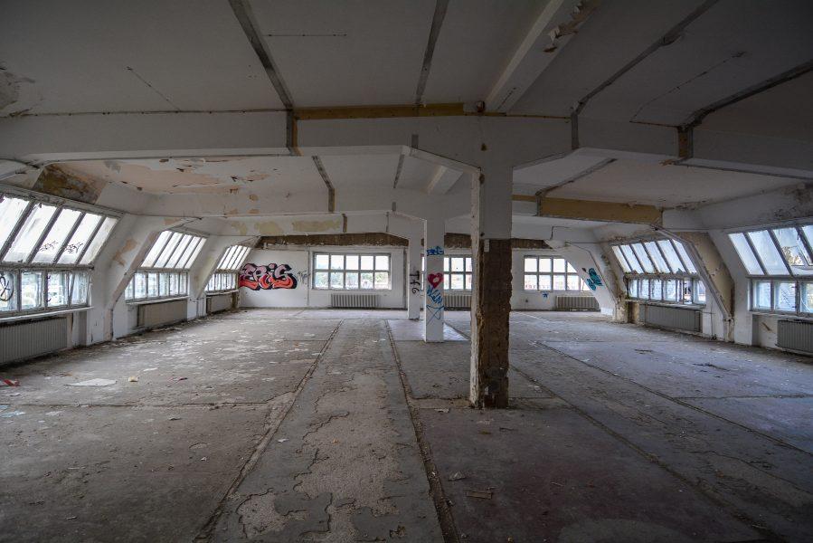 third floor abandoned factory maschinenfabrik georg lensch lost places urbex urban exploring abandoned germany