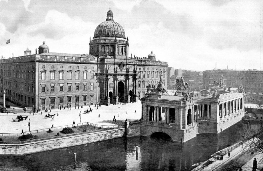 berliner schloss circa 1900
