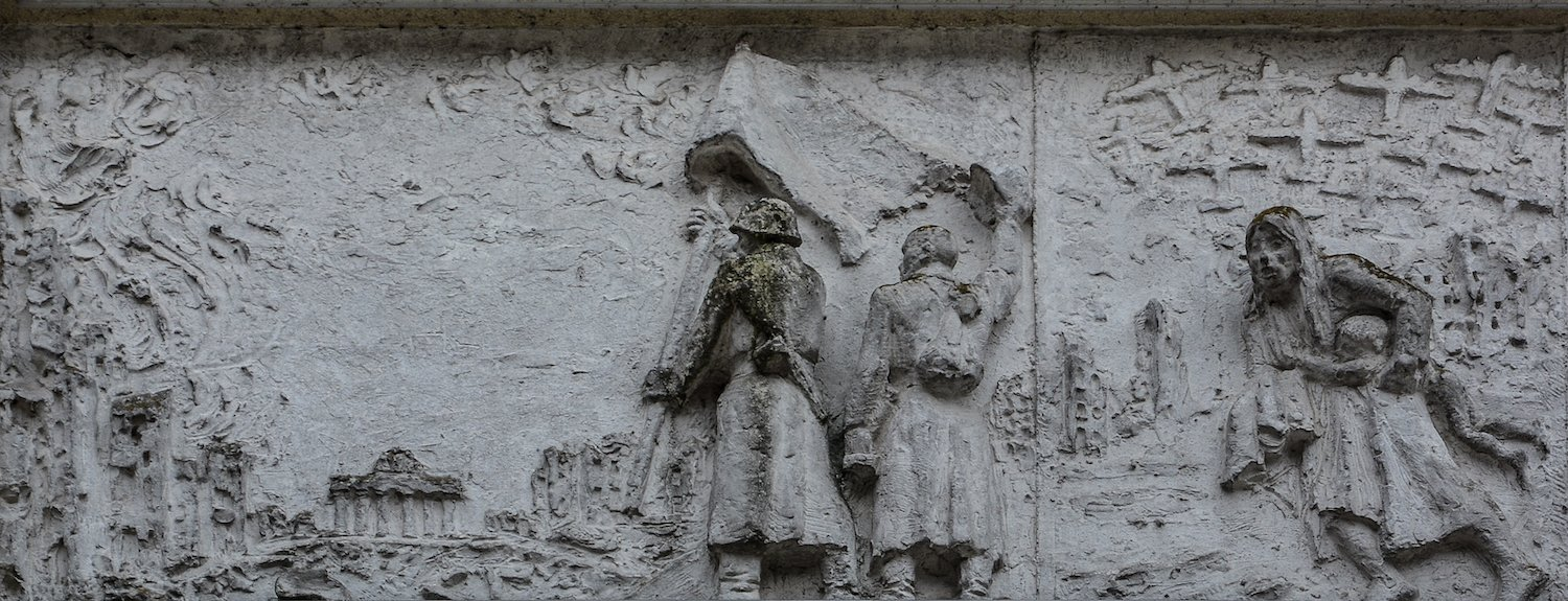 befreiung berlin 1945 fries der sozialistischen Geschichte Berlins Gerhard Thieme socialist history of berlin relief frieze berlin germany socialsim communism east berlin east germany ddr