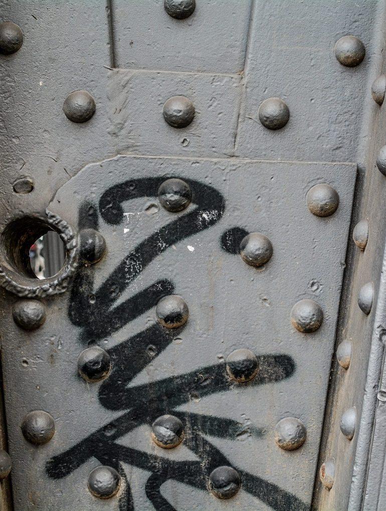 durchschussloch berlin germany bullet hole bridge WWII war