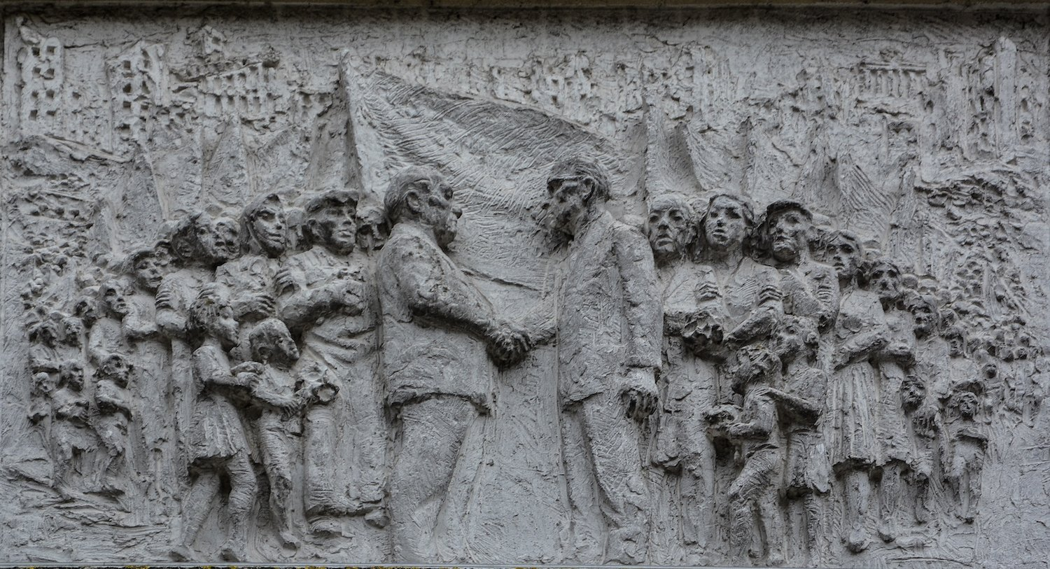 socialist mural kpd spd sed fries der sozialistischen Geschichte Berlins Gerhard Thieme socialist history of berlin relief frieze berlin germany socialsim communism east berlin east germany ddr