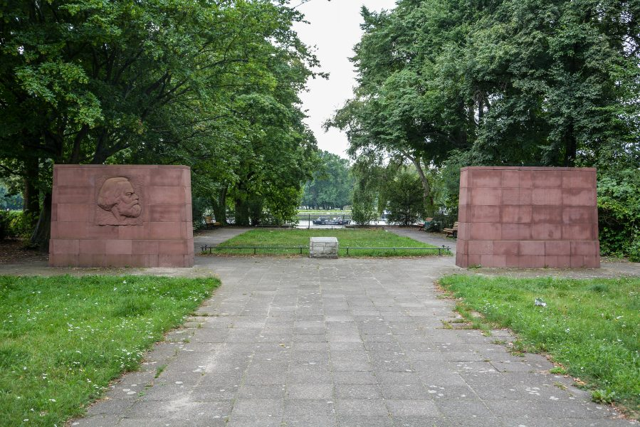 Karl Marx Erinnerungsstaette Stralau berlin germany