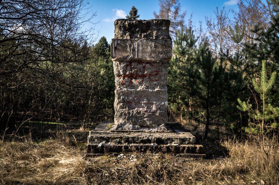 missing lenin statue eberswalde artillerie kaserne soviet artillery barracks brandenburg lost places urbex abandoned germany