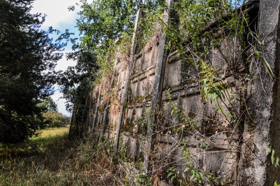 soviet russian jet blast shield wall versuchsstelle fuer hoehenfluege nazi bunker WWII abandoned lost places urbex oranienburg brandenburg germany