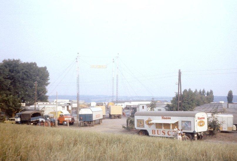 Circus Busch in Zeulenroda in 1988 | Zellreder