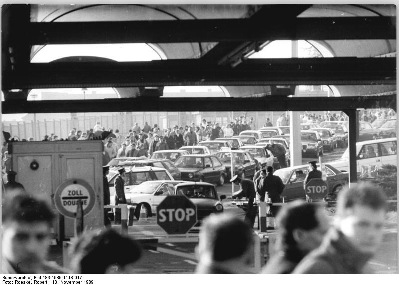 Berlin, Grenzübergang Bornholmer Straße