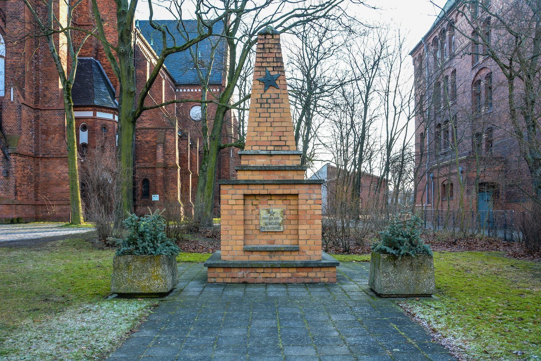 sowjetisches ehrenmal rummelsburg noeldnerstrasse lichtenberg soviet war memorial rummelsburg erloeserkirche berlin deutschland germany