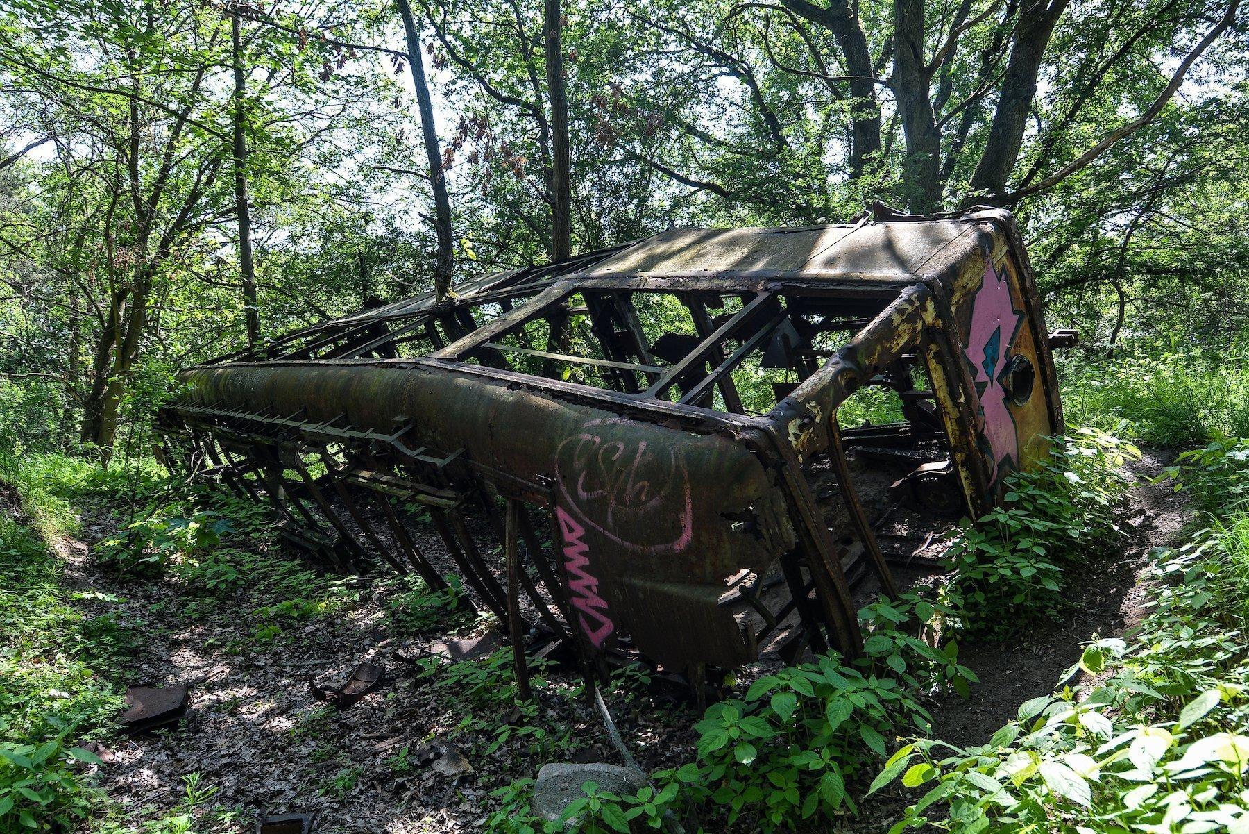 abandoned tram strassenbahn brandenburg dallgow doeberitz potsdam abandoned urbex lost places germany deutschland